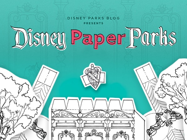 Disney Paper Parks Designed by Walt Disney Imagineering, Part 4