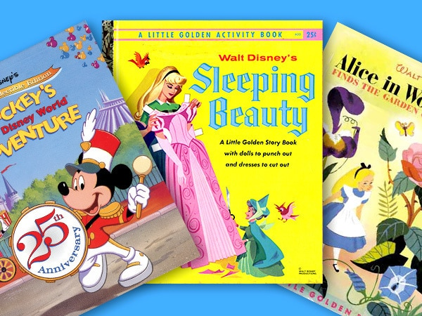 Disney Little Golden Books Images from The Walt Disney Archives