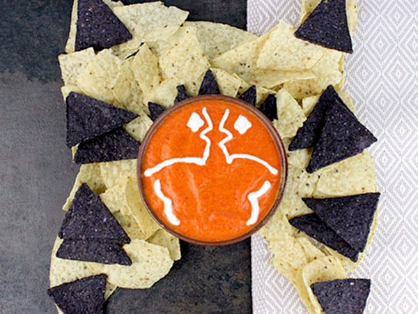Have a Snippy Snack with This Ahsoka Tano Red Pepper Dip