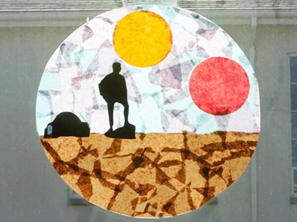 Star Wars Craft: Make a Binary Sunset Catcher!