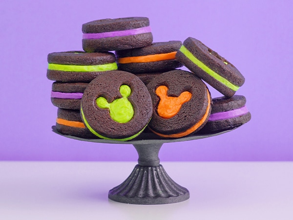 Hidden Mickey Halloween Cookies Recipe