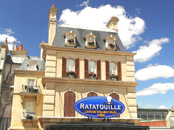 Ride Along for a 'Rat's-Eye' View of Ratatouille: The Adventure at Walt Disney Studios Park in Paris