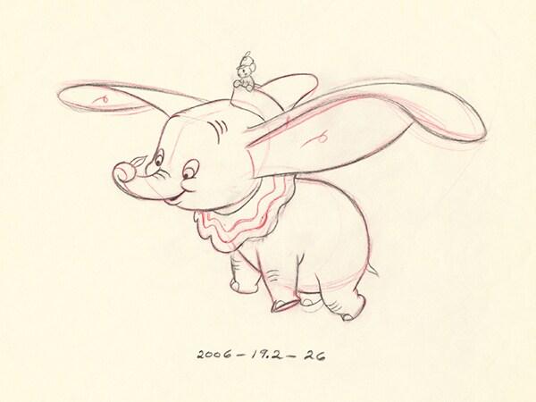 Unforgettable Dumbo Art