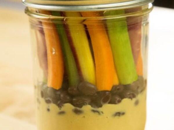 Mediterranean Style Hummus Black Beans