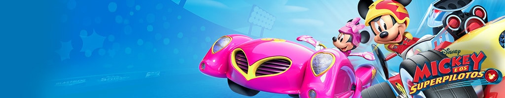 Mickey Roadster Racers - on-air promotion - Homepage Hero DJR