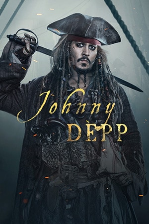 Captain Jack Sparrow - Johnny Depp