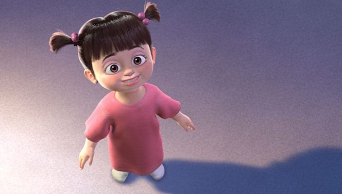 "Boo from the animated movie ""Monsters, Inc."""