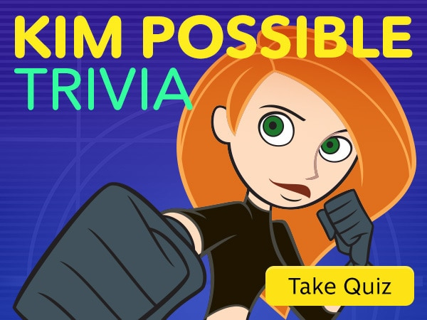 Kim Possible Trivia (Animated)