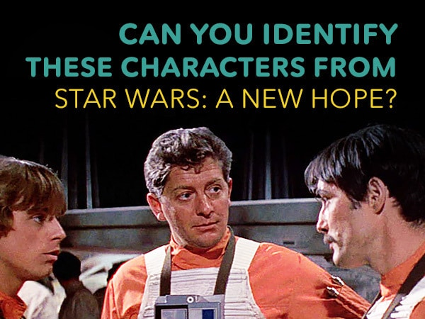 Can You Identify These Characters from Star Wars: A New Hope?