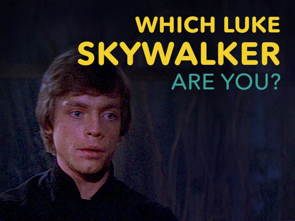 Which Luke Skywalker Are You?