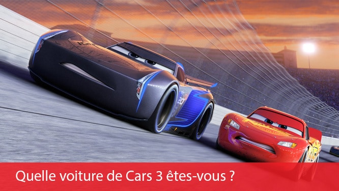 BEFR - Homepage Wide Promo - Cars 3 Quizz