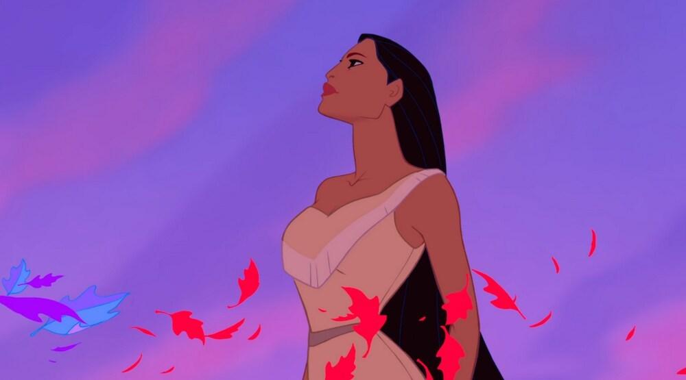 """Pocahontas in the animated movie """"Pocahontas"""""""