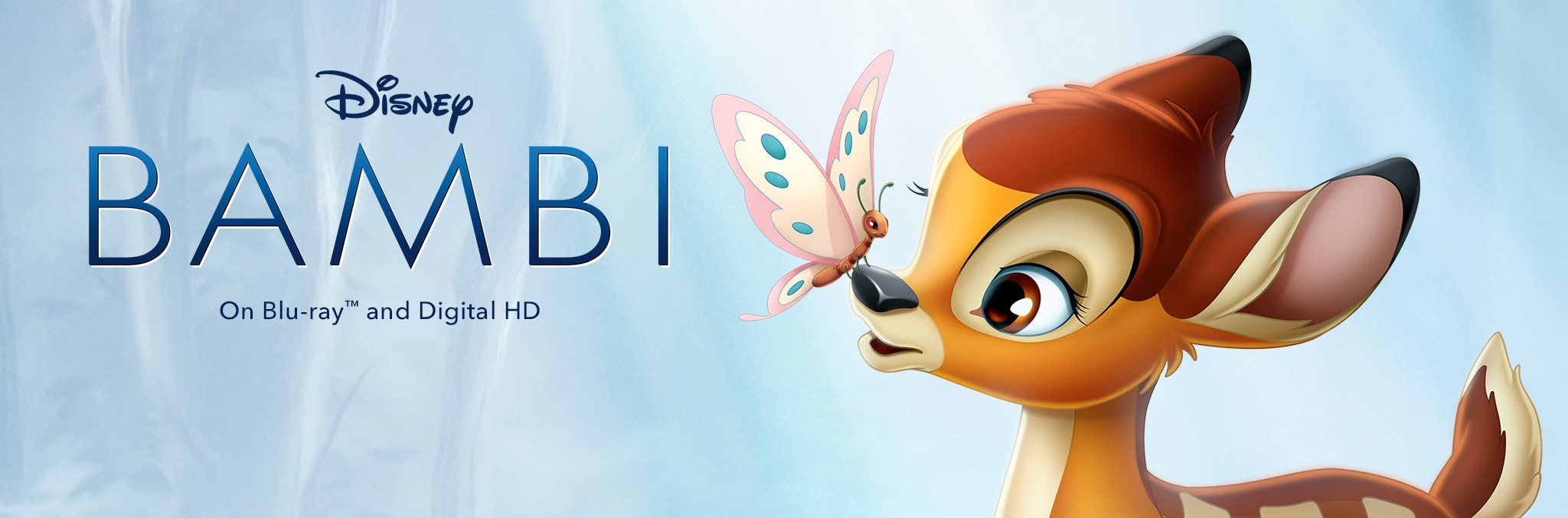Bambi Now on Digital on Bluray and Digital HD