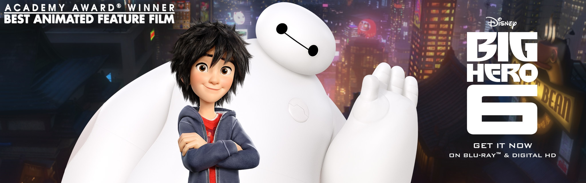Big Hero 6 - Property Site - Hero