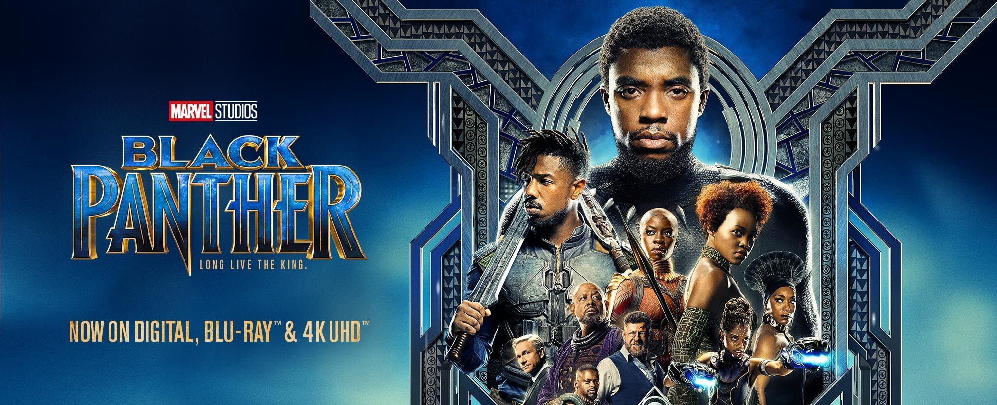Marvel Studios Black Panther - Long Live The King - Now On Digital, Blu-ray(TM) & 4K UHD(TM)