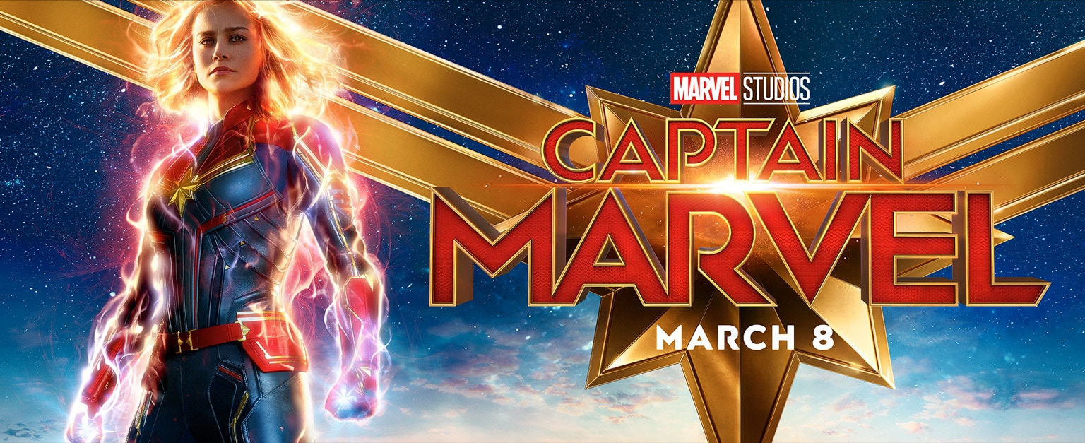 Captain Marvel - March 8