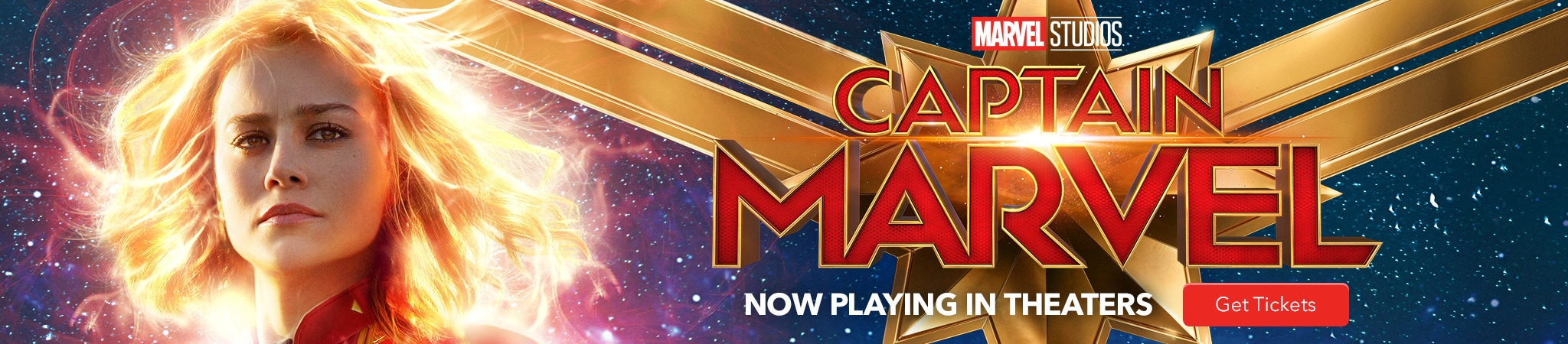 Marvel Studios Captain Marvel Now Playing In Theaters. Get Tickets