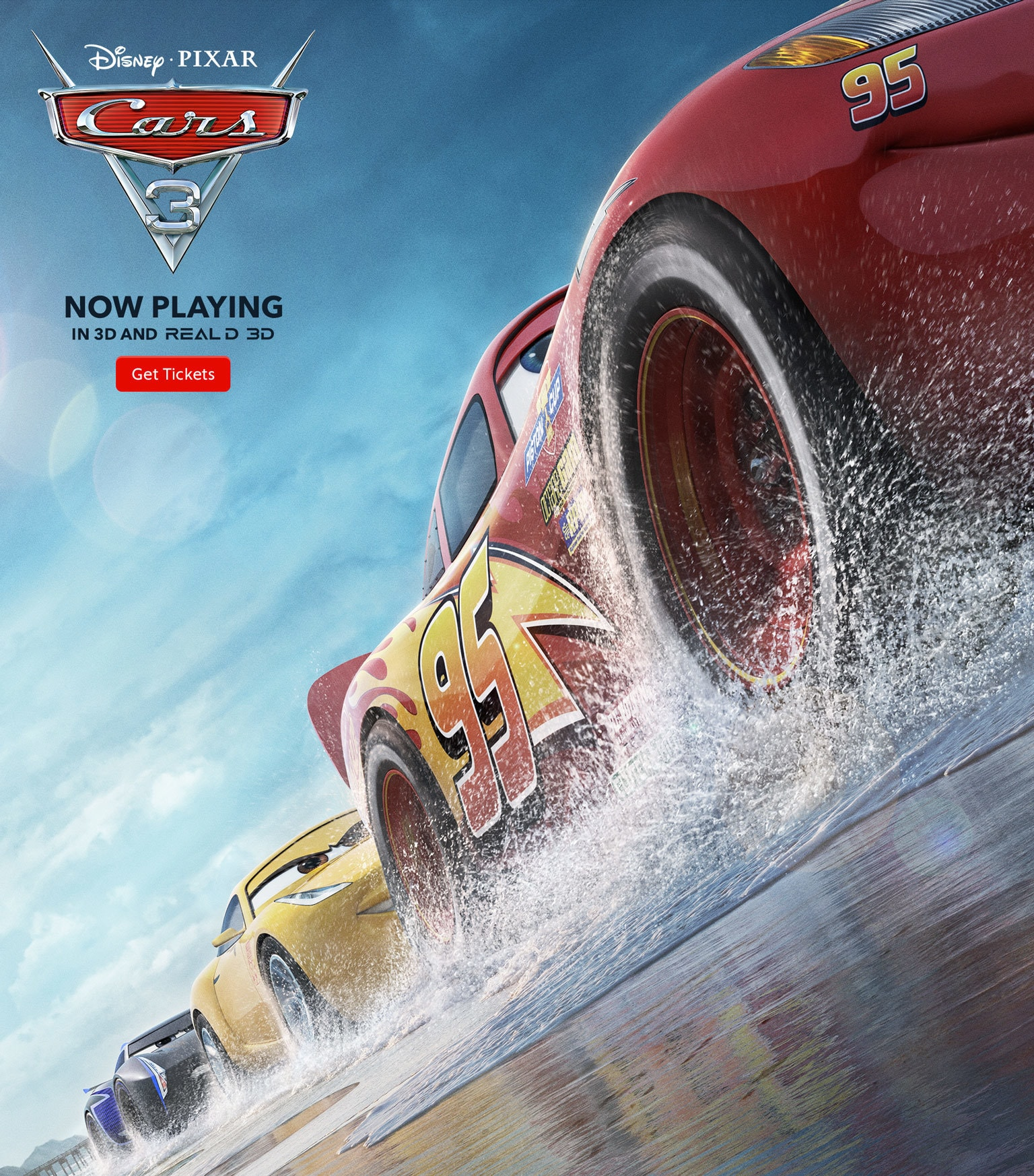 cars 3 now playing get tickets