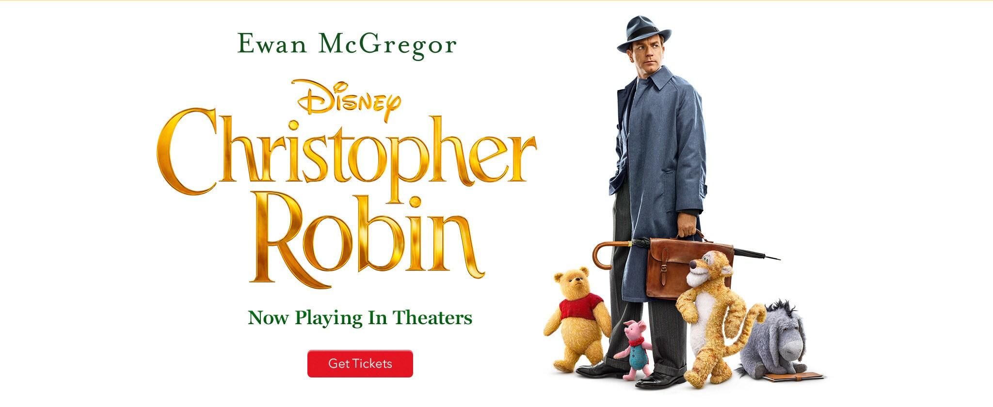 Ewen Mcgregor Inchristopher Robin No Playing In Theatres Get Tickets