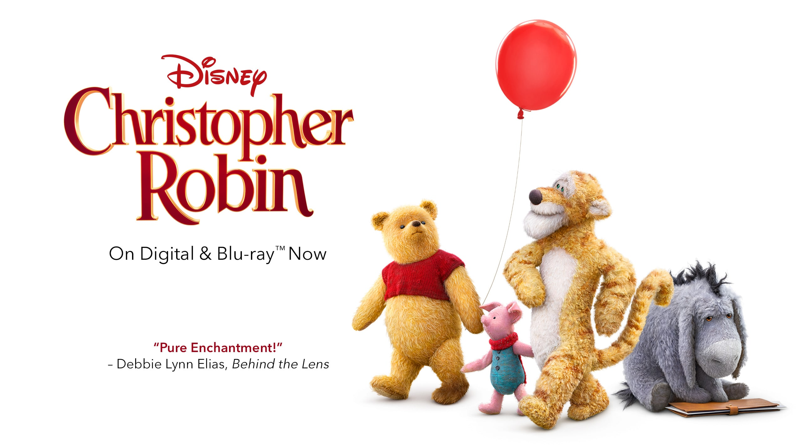 Christopher Robin - On Digital and Blu-ray(TM) Now