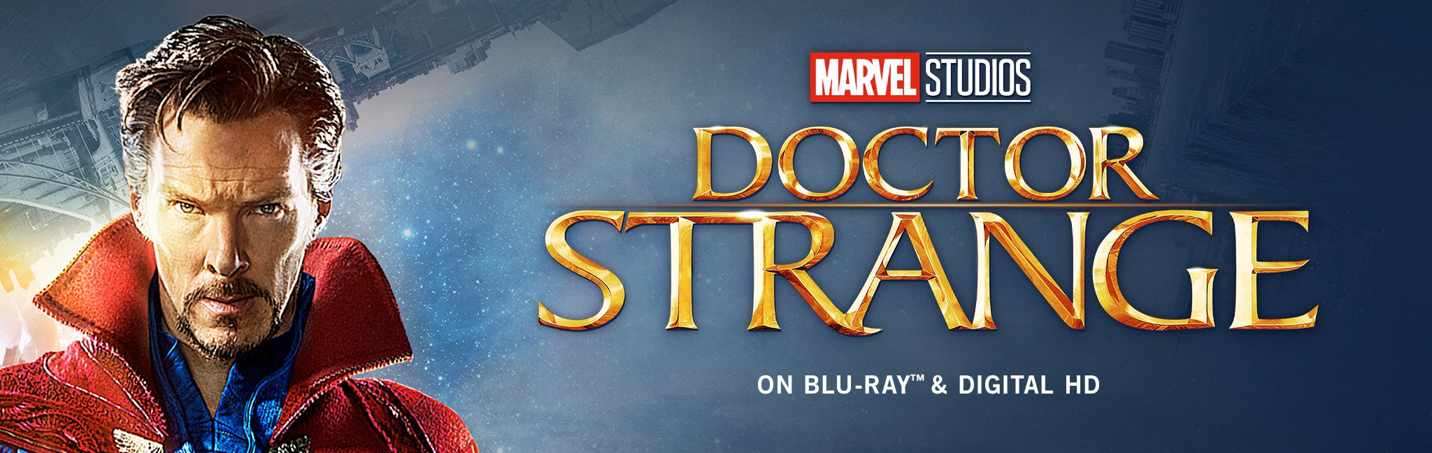 Dr Strange in on blu ray Feb 28. On Digital HD now