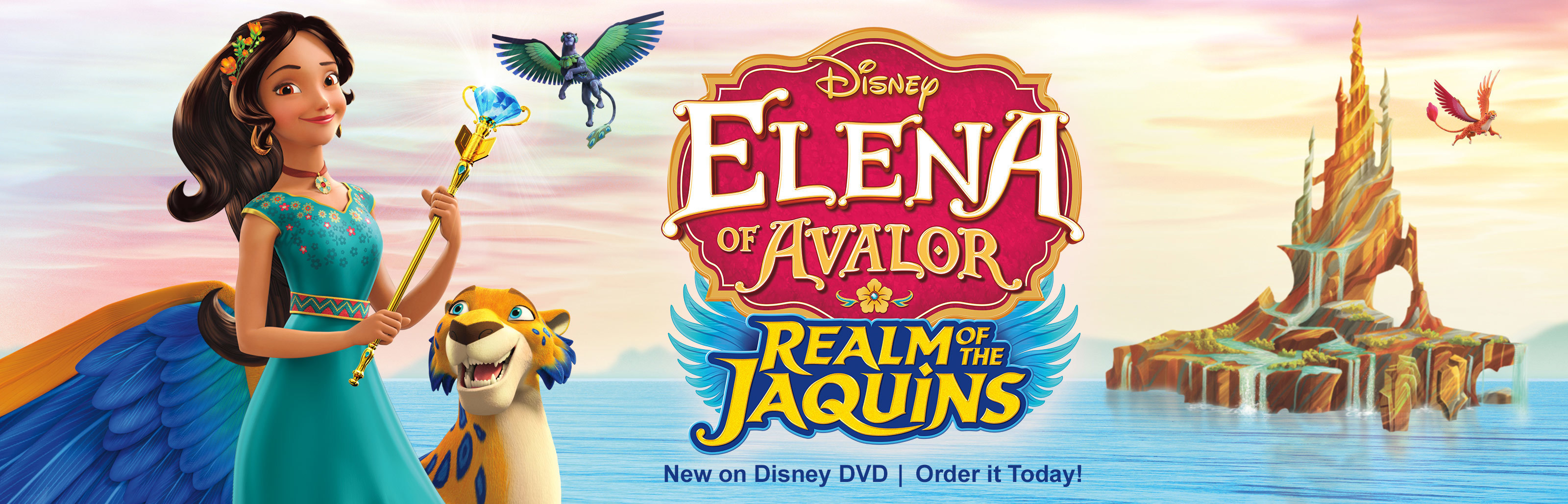 Elena of Avalor Realm of the Jaquins - New On Disney DVD | Order It Today!