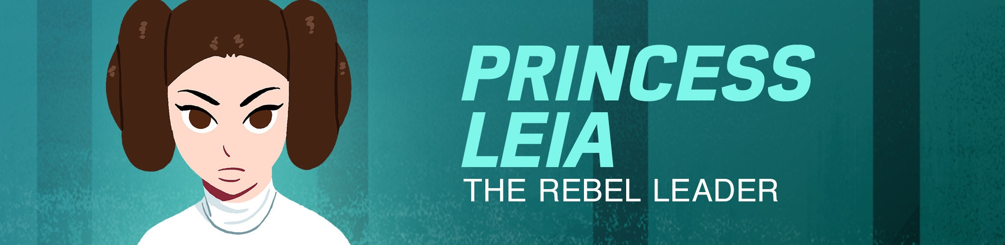 Princess Leia - The Rebel Leader
