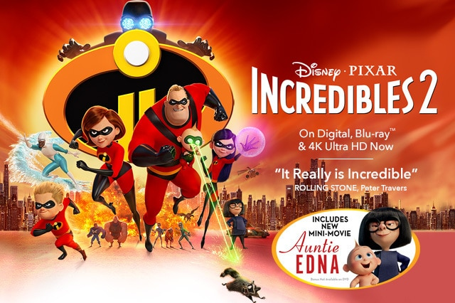 Incredibles 2 Disney Movies