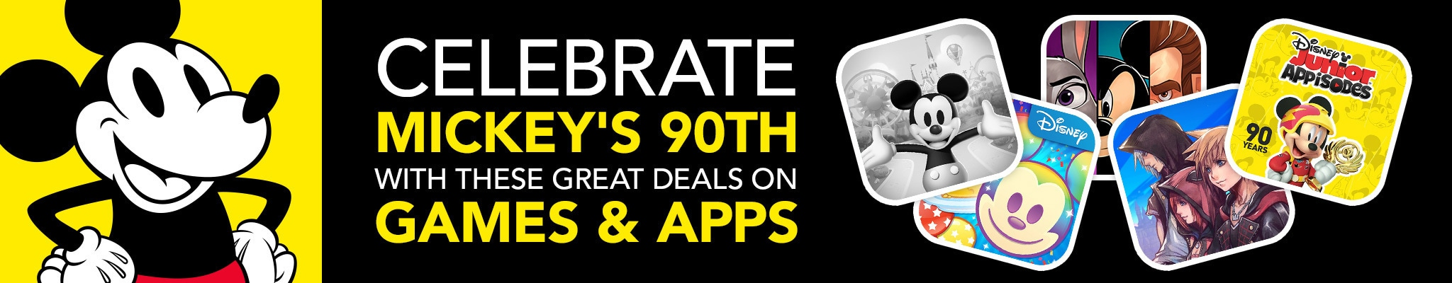 Celebrate Mickey's 90th with these great deals on games and apps