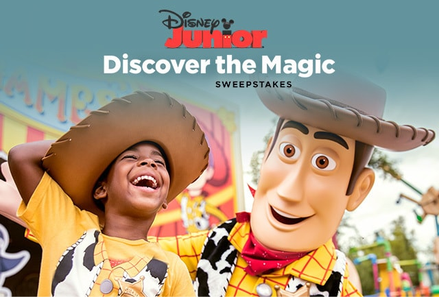Disney Jr Discover the Magic Sweepstakes | Disney Parks