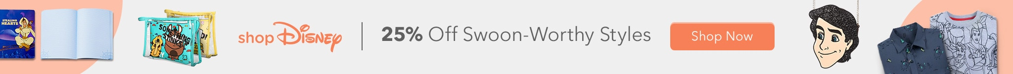 shopDisney 25% Off Swoon-Worthy Styles