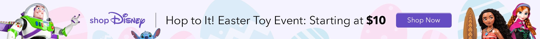 shopDisney Hop to It! Easter Toy Event: Starting at $10