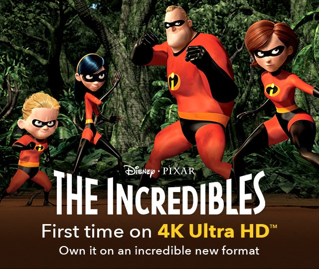 The Incredibles Official Site Disney Movies