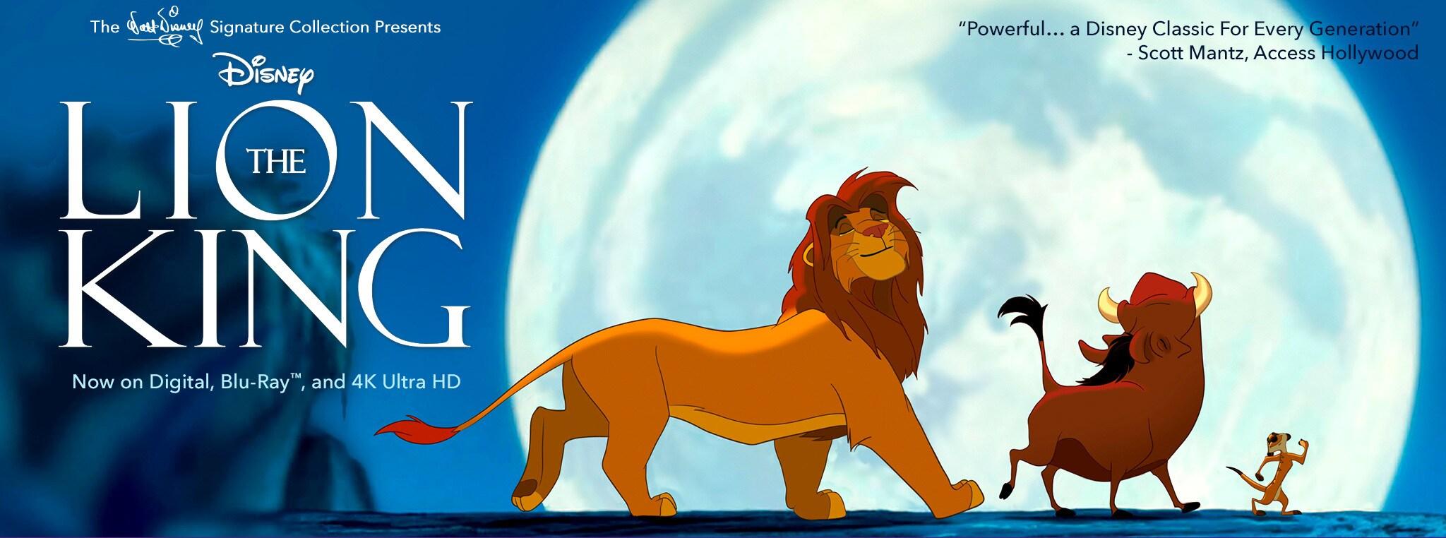 the lion king disney movies