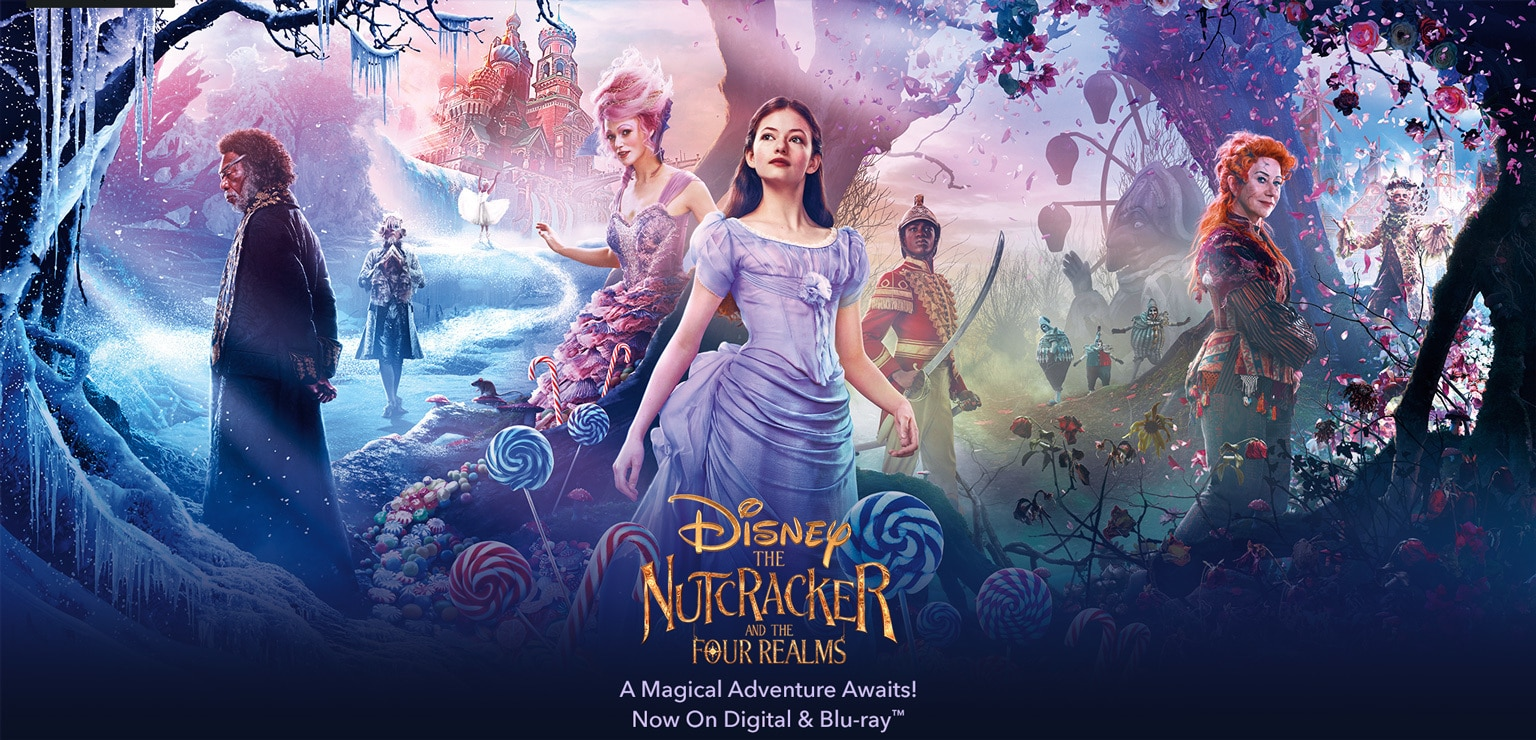The Nutcracker and the Four Realms - A Magical Adventure Awaits! On Digital & Blu-Ray(TM) Jan 29