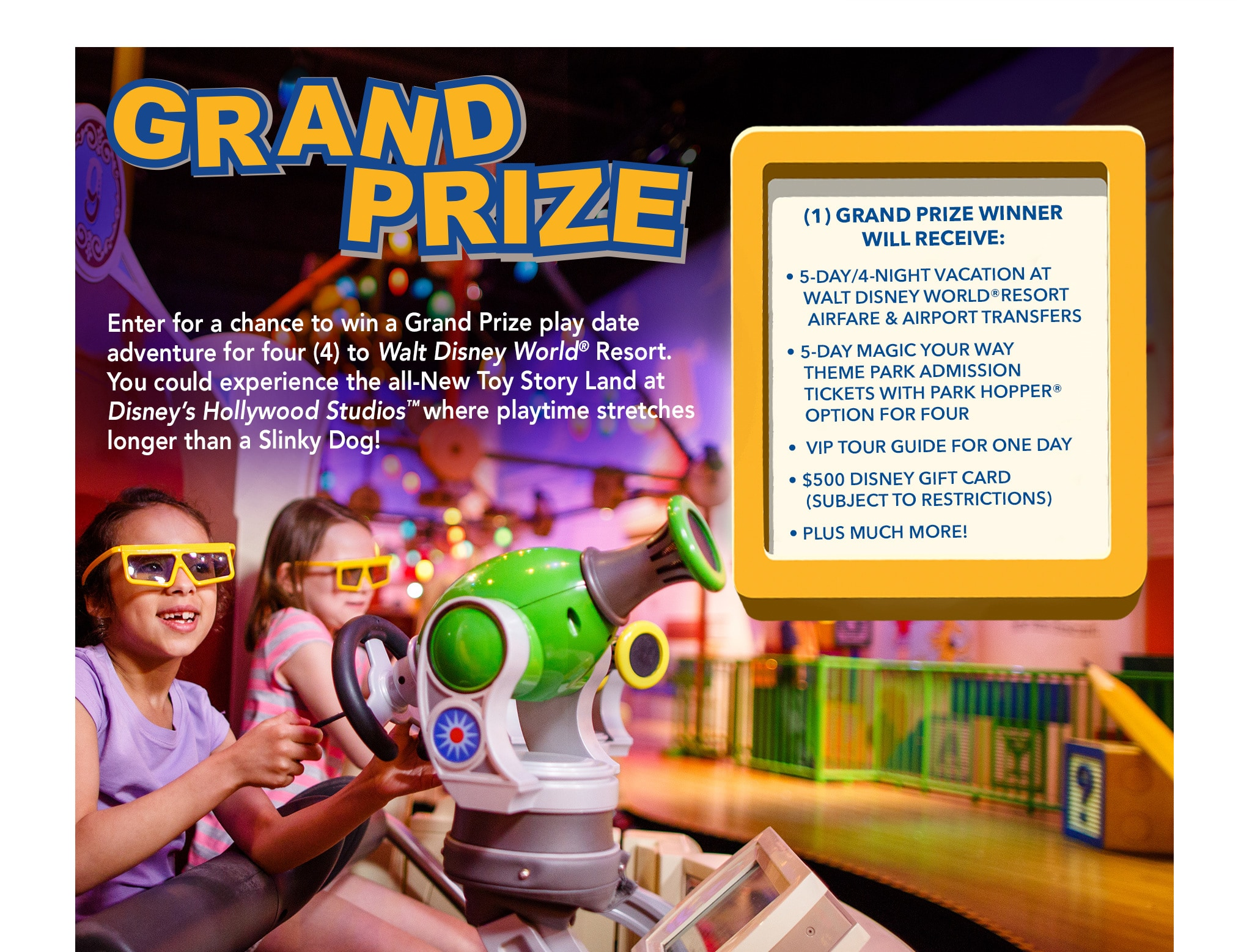 Show your disney side sweepstakes