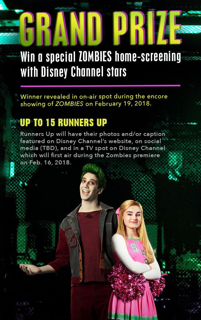 Zombies Spirit Challenge Disney Lol