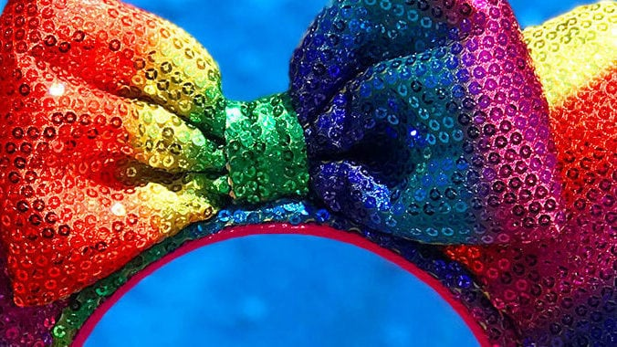 Rainbow Sequinned Minnie Ears are Coming to Disney Parks