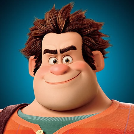 characters wreck it ralph disney movies