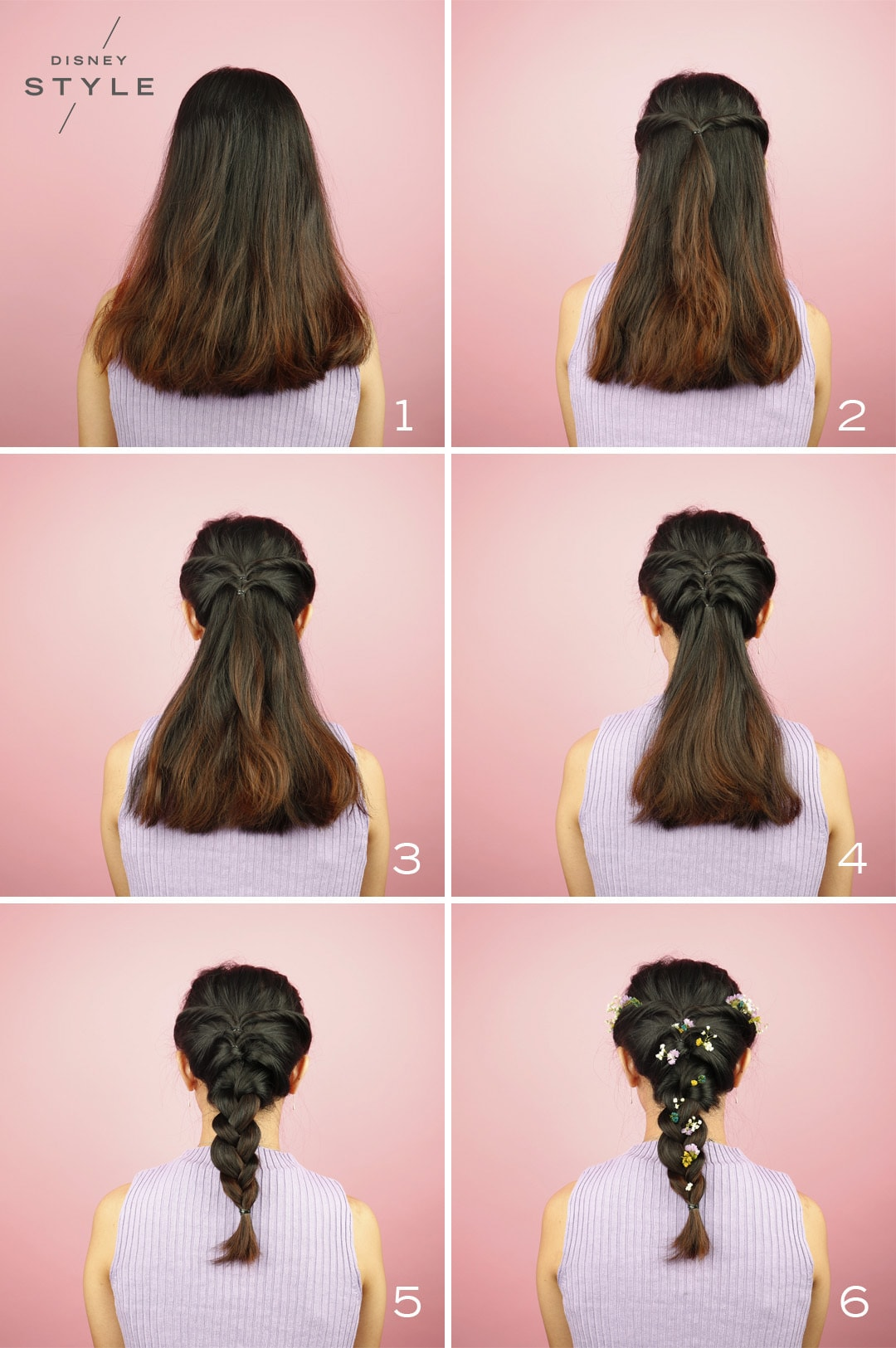 You Have to Try These Easy Yet Pretty and Modern Princess-Inspired