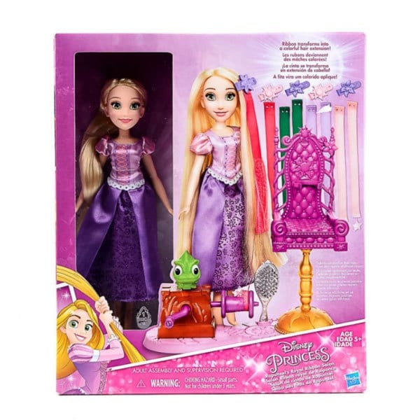 Disney Princess Rapunzel's Royal Ribbon Salon Toy