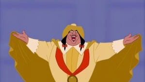 "Governor Ratcliffe from the animated movie ""Pocahontas"""