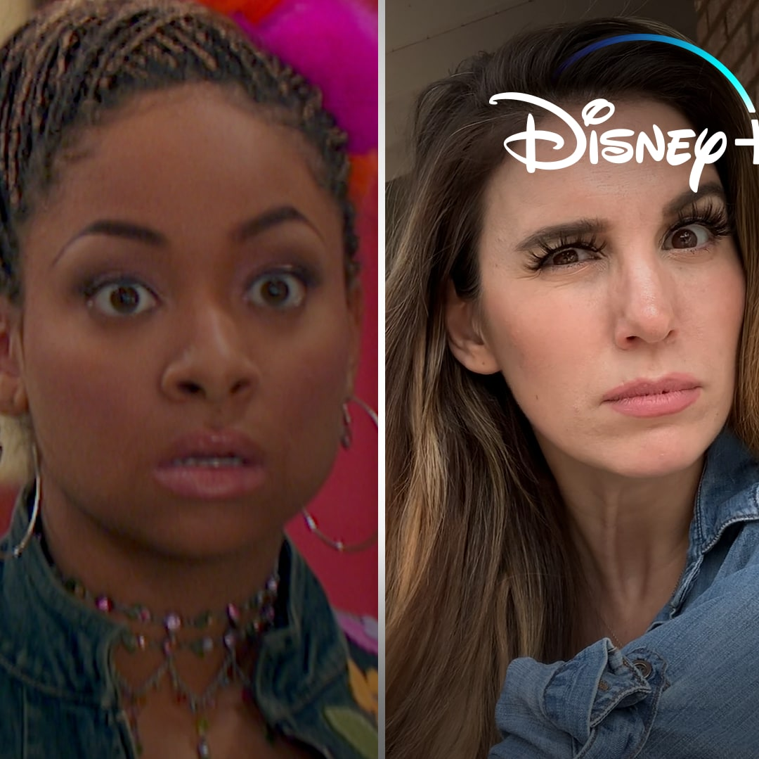 Your Favorite Disney Channel Stars Attempt to Re-Create Raven's Iconic Vision Face