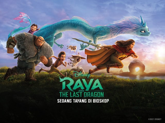 Raya and The Last Dragon | Disney Movies | Indonesia