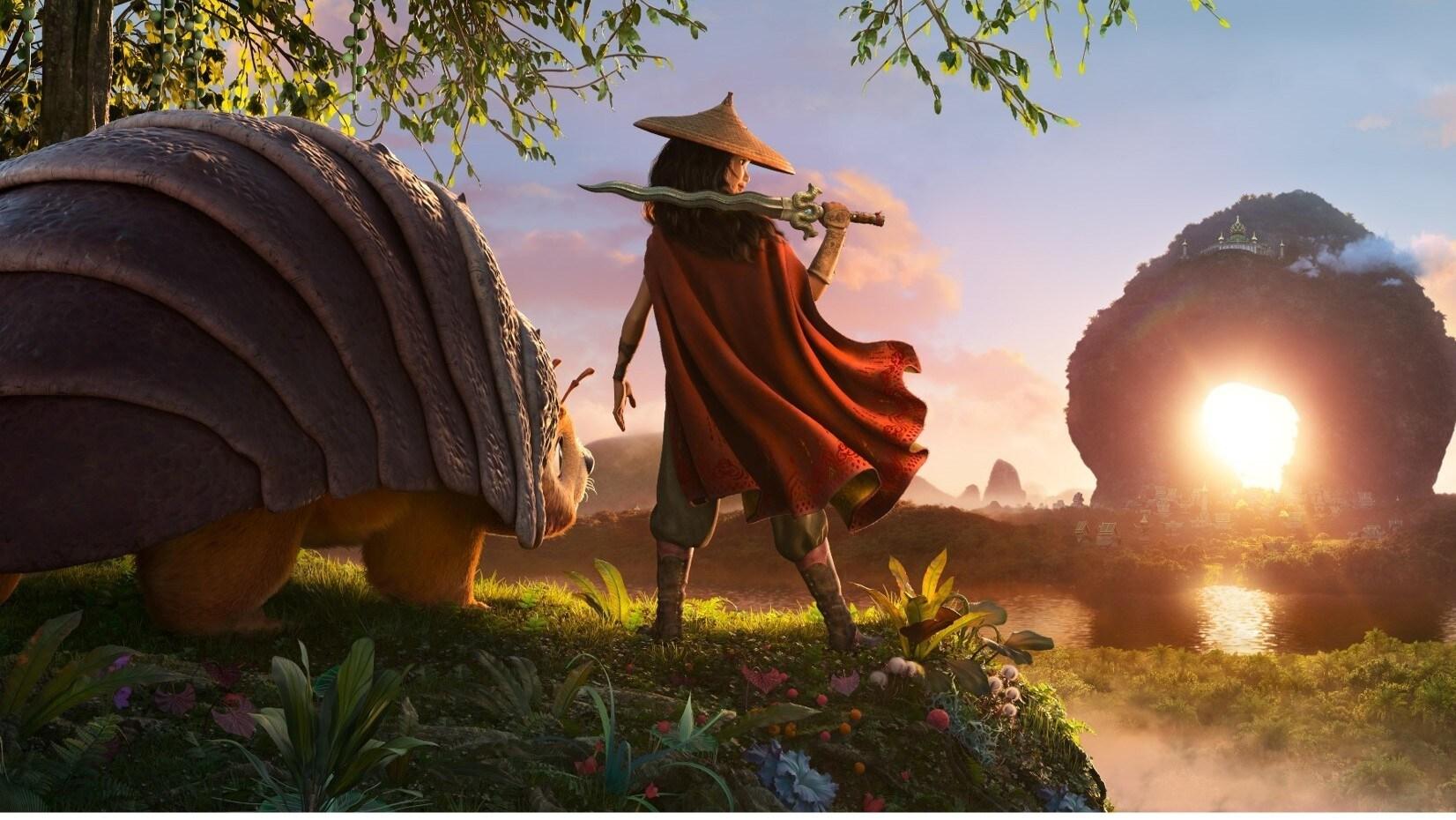 Raya y el último dragón: la nueva aventura animada de Disney Animation Studios