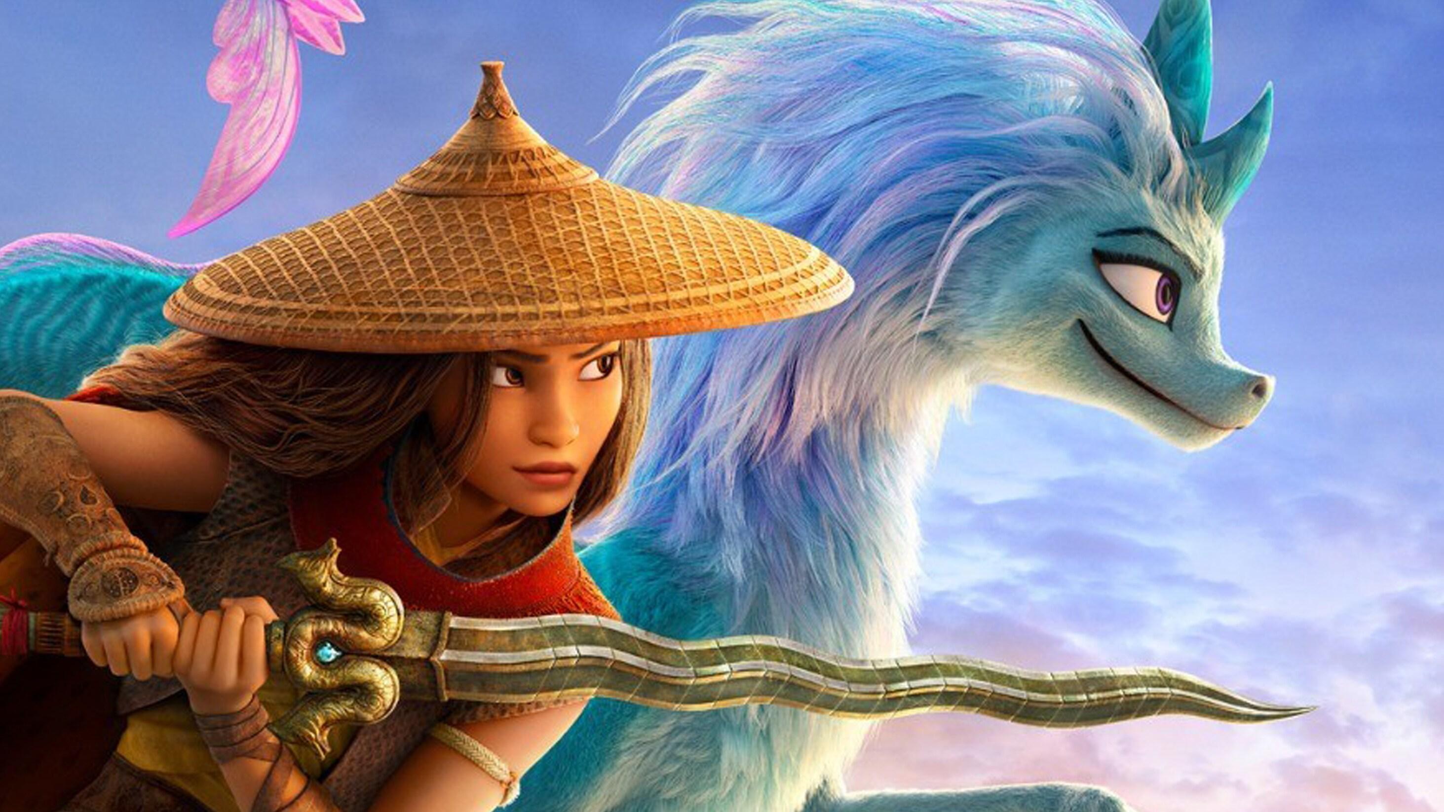 Protagonistas de Raya y el último dragón