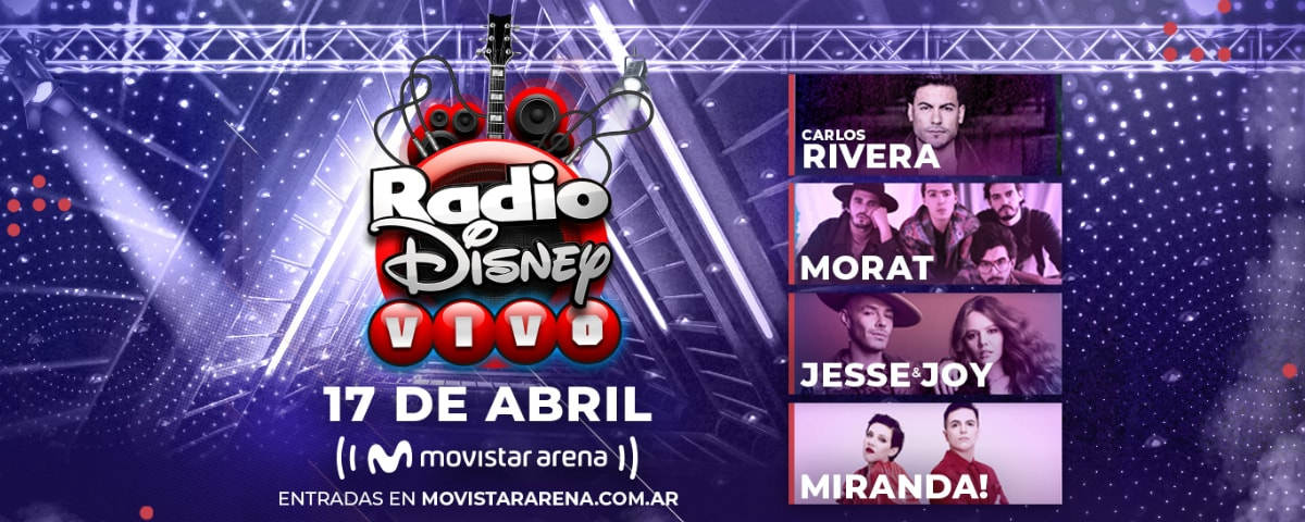 Radio Disney Vivo 2020 Argentina
