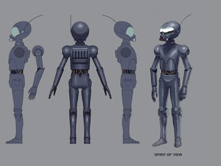 The Forgotten Droid Concept Art Gallery