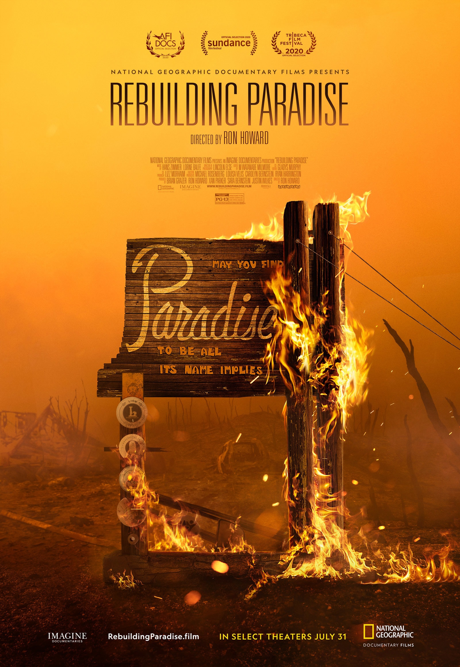 Rebuilding Paradise National Geographic Documentary Films