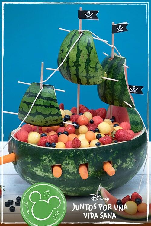 Barco de fruta del capitán Jack Sparrow